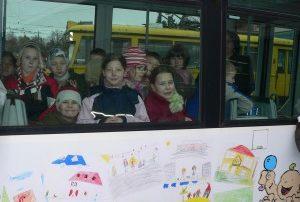 Erste Fahrt dieser Straßenbahn